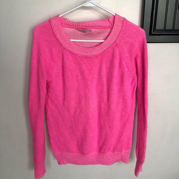 Gap Sweaters Womens Hot Pink Sweater Poshmark